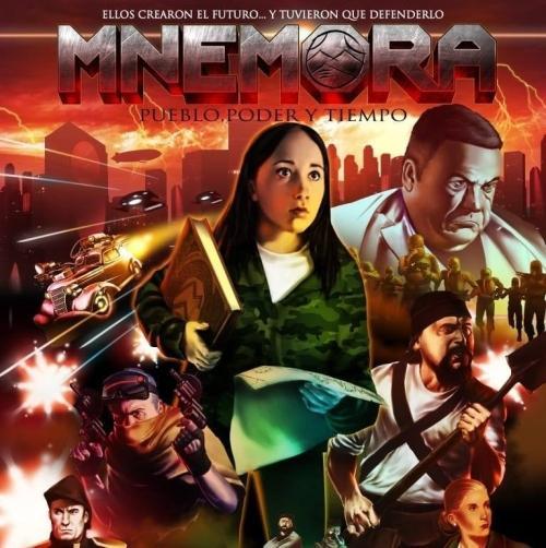 Poster Mnémora - Pueblo, Poder y Tiempo